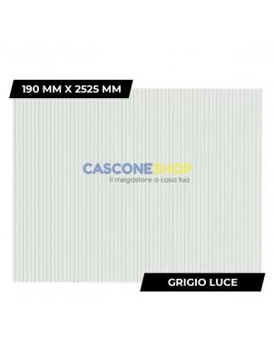 PROFILO FRANGIVISTA 190 MM X 2525 MM GRIGIO LUCE