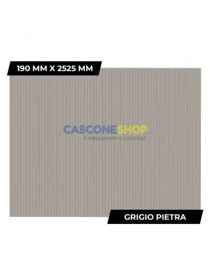 PROFILO FRANGIVISTA 190 MM X 2525 MM GRIGIO PIETRA