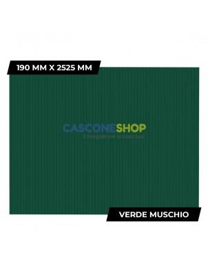 PROFILO FRANGIVISTA 190 MM X 2525 MM VERDE MUSCHIO