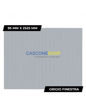 PROFILO FRANGIVISTA 95 MM X 2525 MM GRIGIO FINESTRA